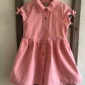 Genuine Kids Pink and Rose Gold Dress